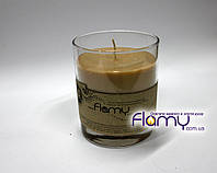 Свеча в стекле аромо, стакан 250 мл