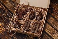 """Шоколадный набор """"Настоящему мужчине"""". Оригинальный подарок парню"""