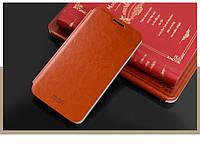 Чехол-книжка Mofi для телефона Lenovo A529 коричневый brown