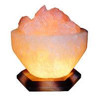 """Соляной светильник """"Чаша огня"""" 4-5 кг (Украина)"""