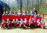 Спортивные костюмы для футбольных команд. Вышивка логотипа