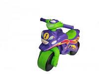 Детский толокар Байк Спорт 0139/60 Фламинго - Тойс, фиолетовый с салатовым