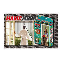 Москитная сетка на магнитах Magic Mesh 18 магнитов
