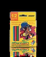 Цветные карандаши Марко (Marco) Пегашка  мини 12 цв