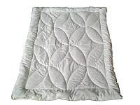 Одеяло полуторное, силиконовое Овал, сатин (155х215 см.)
