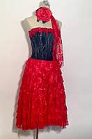 Платье A&B пышное с корсетом