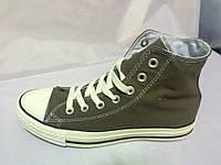 Кеды Converse All Star высокие серо-коричневые Оригинал!