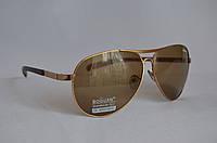 Солнцезащитные очки мужские капли коричневый BOGUAN