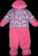 Детский демисезонный (осенний, весенний) комбинезон на синтепоне и флисе, р. 80