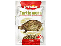Корм палочки для ежедневного кормления черепах Меню 10гр