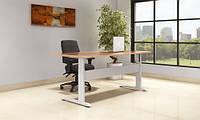 ConSet m15 Эргономичный стол регулируемый по высоте для работы стоя и сидя c электроприводом (White)