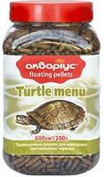 Корм палочки для ежедневного кормления черепах Меню 150гр