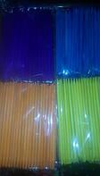 Апельсиновые палочки для ногтей разные цвета 100 шт.