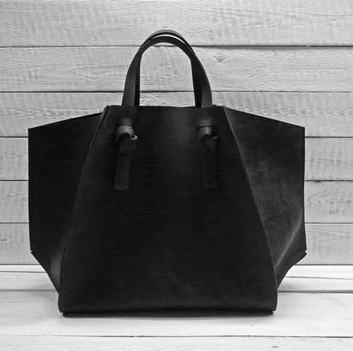 Чудесная женская сумка из натуральной кожи GBAGS B.0007-CH черный