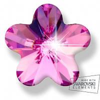 Серьги для ушей Biojoux BJ0564 Pink Flower 6mm, Харьков