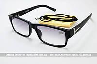 Очки для зрения с диоптриями (+) РМЦ 62-64. OPTICS 2180-25 с тонированными линзами