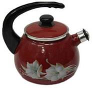 EPOS 2711/4 Чайник со свистком 2.5 л эмаль