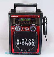 Радиоприемник Колонка акустическая KN-61-REC-R USB/МР3