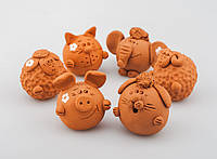 Глиняные игрушки ручной работы