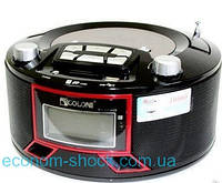 Радиоприемник Бумбокс GOLON RX663RQ Red & Black
