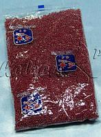 Бисер (Китай) 450гр.спелая-вишня перламутровый непрозрачный BIS-БК450-7 /06-1