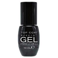 Лак гель для ногтей топовое покрытие Deliplus Brillo Top Coat Efecto Gel