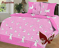 Комплект постельного белья Мурлыка ТМ TAG 1,5 спальный комплект