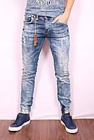 Мужские стильные джинсы с манжетами VIP Mario Турция