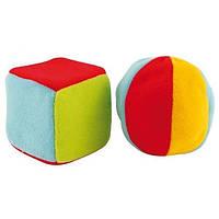 Н-р погремушек Canpol Babies мячик большой и кубик большой