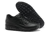 Кроссовки Nike Air Max 90 VT Tweed черный/кожа