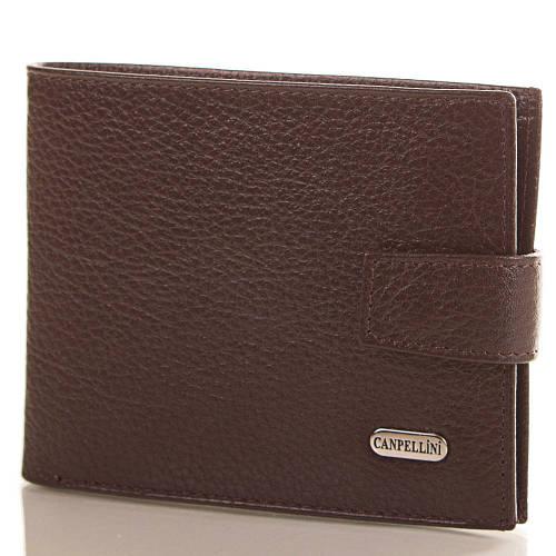 Мужской классический кожаный кошелек CANPELLINI (КАНПЕЛЛИНИ), SHI503-10-FL