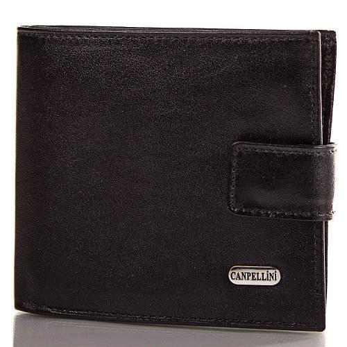 Мужской классический кожаный кошелек CANPELLINI (КАНПЕЛЛИНИ), SHI222-2