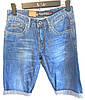Мужские джинсовые шорты стильные Норма