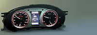 GAMMA GF 818 комбинация приборов для Lada Kalina и Lada 2110 с новой панелью. Маршрутный компьютер Гамма 818