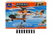Конструктор Brick  Вертолет  85012  108дет.