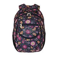 Школьный рюкзак с ортопедической спинкой для девочки