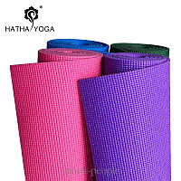 Коврик для йоги/фитнеса: 6 мм, разн. цвета + чехол в подарок!