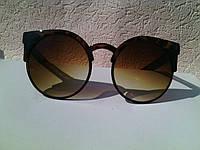 Модные солнцезащитные очки кошачий глаз