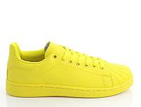 Женские кроссовки желтого цвета