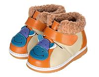 Детские ботиночки с мехом внутри