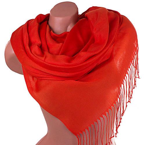 Яркий оранжевый женский палантин 172 на 69 см OZSOY AKSESUAR (ОЗСОЙ АКСЕСУАР) SAT11072