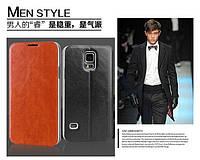 Чехол-книжка Mofi для телефона Samsung Galaxy S5 черный black
