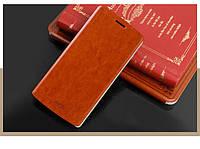 Чехол-книжка Mofi для телефона LG G3 коричневый brown
