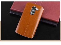Чехол-книжка Mofi для телефона LG G2 mini коричневый drown