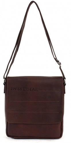 Оригинальная коричневая плечевая сумка SWISS GEAR 29-02BR