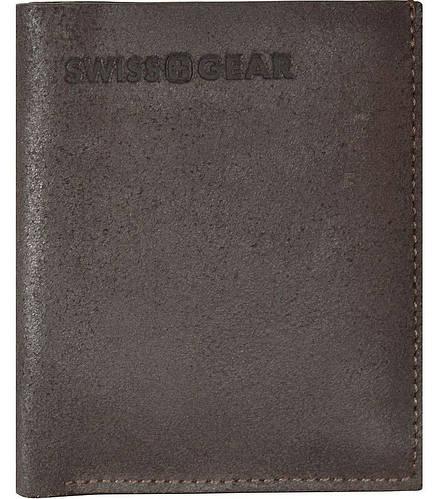Оригинальное коричневое мужское портмоне  SWISS GEAR 30-12BR