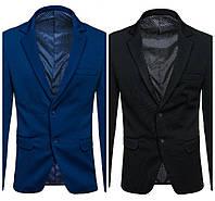 Мужской пиджак синий,черний