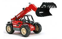 Bruder 02125 игрушка - дорожный погрузчик с телескопической стрелой MLT 633
