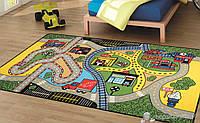 Коврик в детскую комнату 133х190 RACE YESIL Confetti
