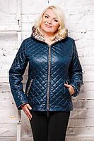 Куртка SP Стежка; цвета: изумруд | белый | синий,  состав:100% полиэстер